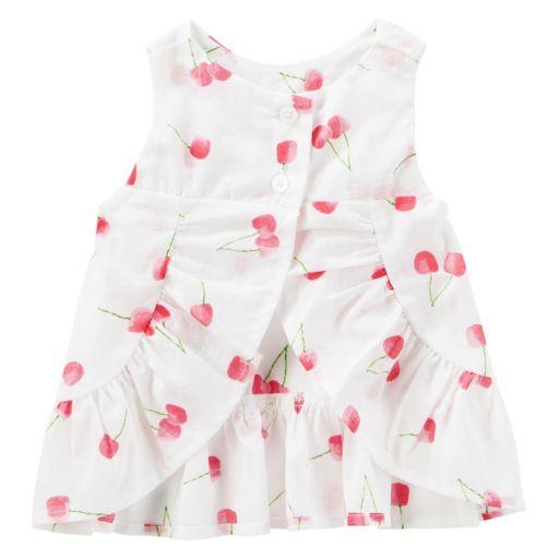 Baby Girl OshKosh B'gosh® Cherry-Print Swing Tank Top