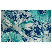 Kaleen Brushstrokes Floral Abstract Wool Rug