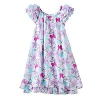 Girls 4-6x Blueberi Boulevard Butterfly Chiffon Sundress