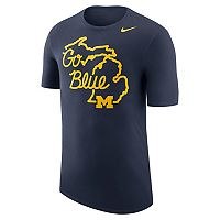 Men's Nike Michigan Wolverines Local Elements Tee