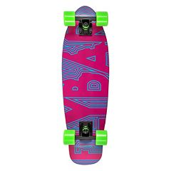 Flybar 27.5-Inch Tribal Wood Cruiser Skateboard