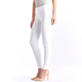 Women's Rock & Republic® Fever Denim Rx® White Jean Leggings