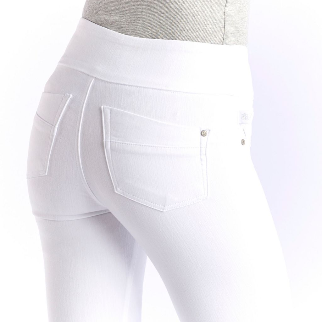 Women's Rock & Republic® Fever Denim Rx® White Jean Leggings