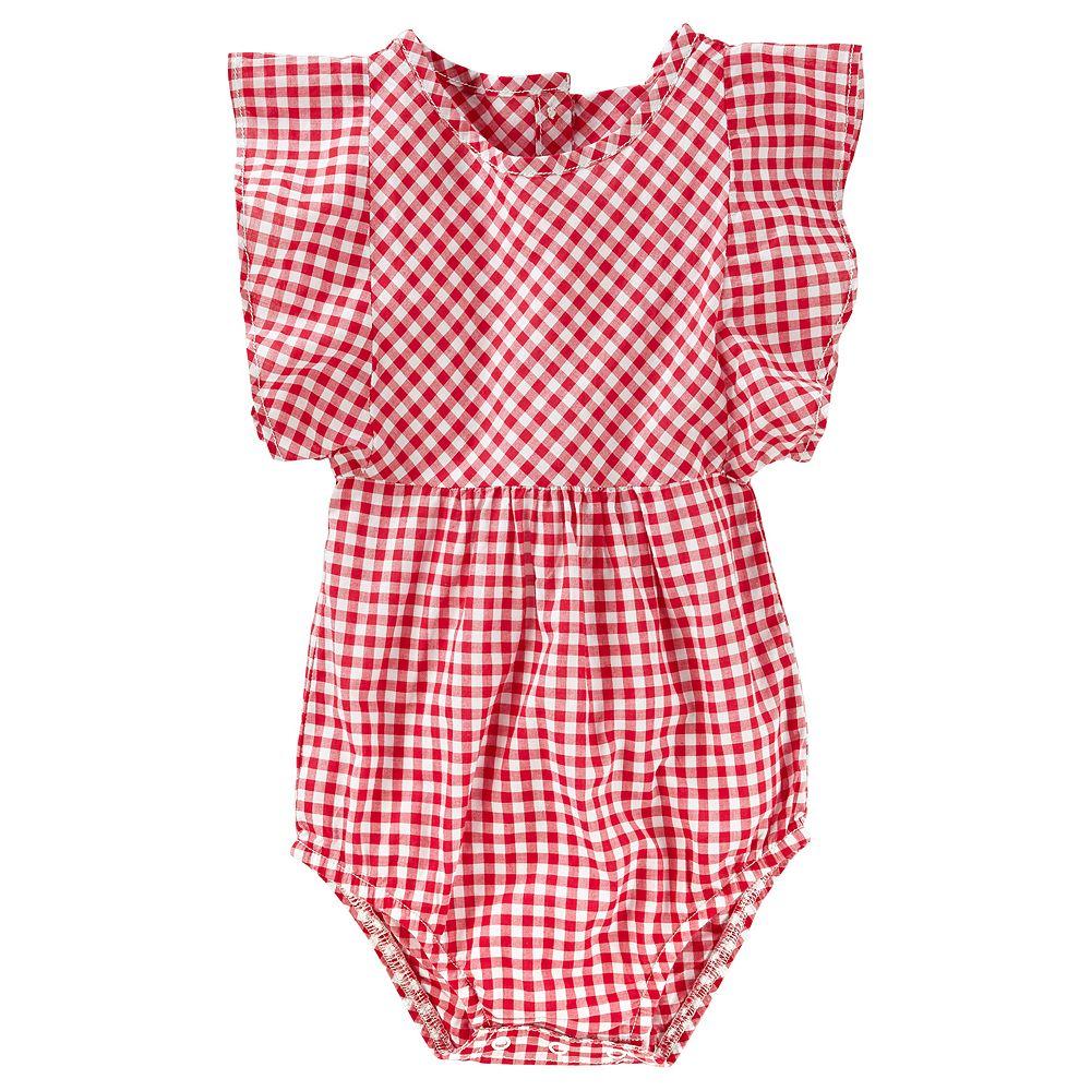 Baby Girl OshKosh B'gosh® Gingham Bodysuit