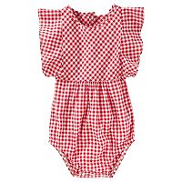 Baby Girl OshKosh B'gosh® Gingham Bodysuit