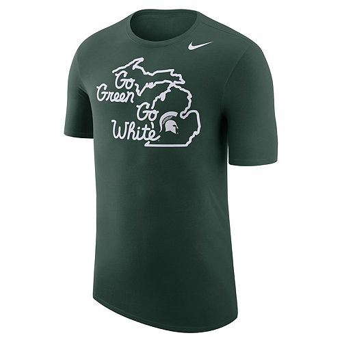 Men's Nike Michigan State Spartans Local Elements Tee