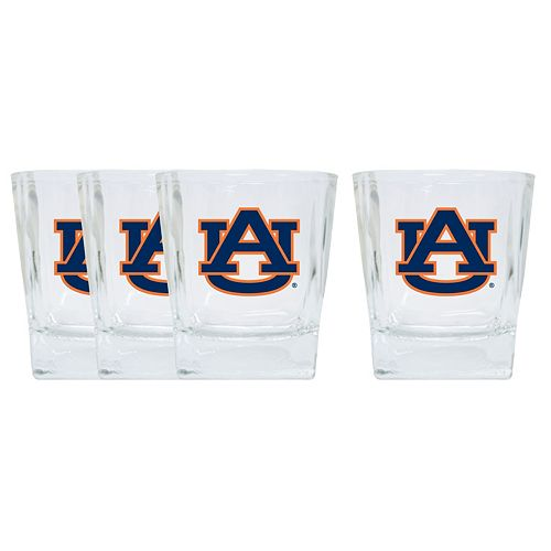Auburn Tigers 4-Pack Short Tumbler Glasses