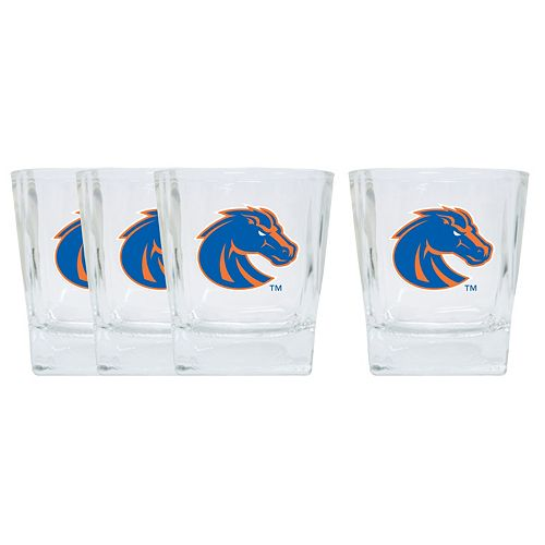 Boise State Broncos 4-Pack Short Tumbler Glasses