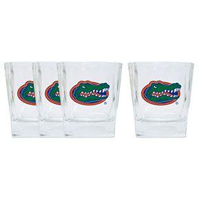 Florida Gators 4-Pack Short Tumbler Glasses
