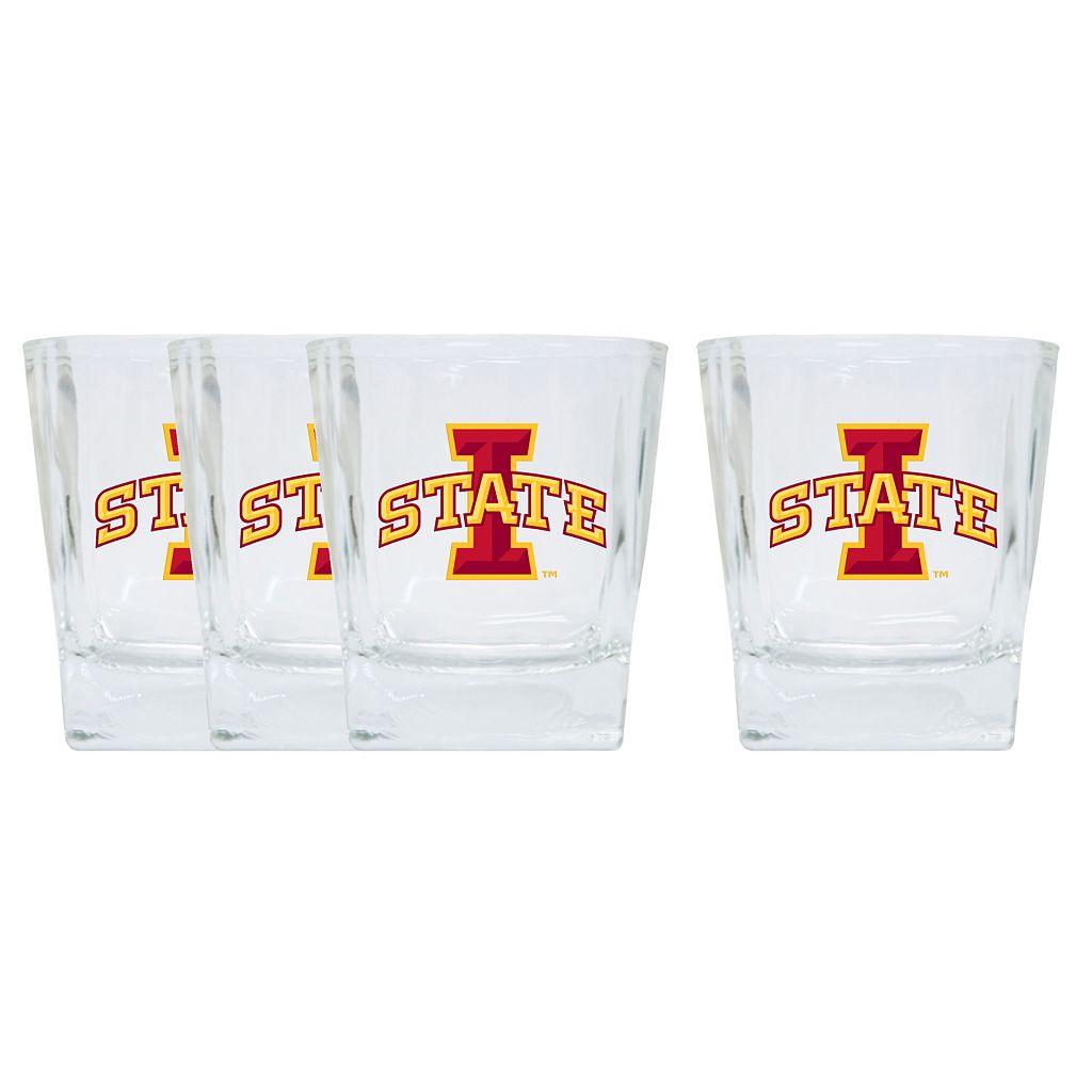 Iowa State Cyclones 4-Pack Short Tumbler Glasses
