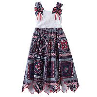Girls 4-6x Blueberi Boulevard Americana Stars Sundress