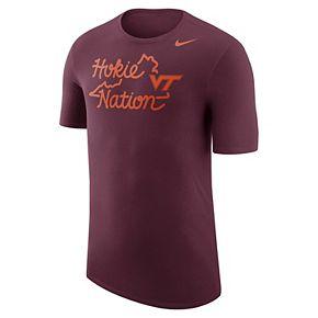 Men's Nike Virginia Tech Hokies Local Elements Tee