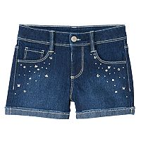Girls 4-8 SONOMA Goods for Life™ Rhinestone Denim Shorts