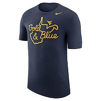 Men's Nike West Virginia Mountaineers Local Elements Tee