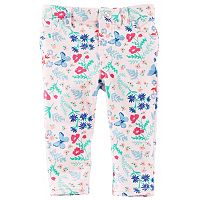 Baby Girl OshKosh B'gosh® Floral Butterfly Print Pants