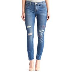 Women's Rock & Republic® Kashmiere Embroidered Ankle Jean Leggings