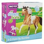 Breyer My Dream Horse Pinto Horse 3D Paint-by-Number Kit