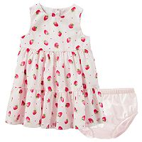 Baby Girl OshKosh B'gosh® Strawberry Tiered Dress