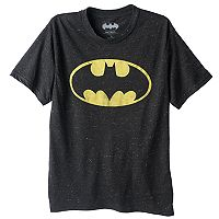 Boys 8-20 DC Comics Batman Logo Tee