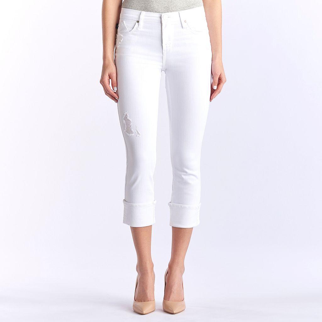Women's Rock & Republic® Kendall Cuffed Capri Jeans