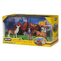 Breyer Stablemates Tractor Play Set