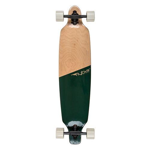 Flybar 39-Inch Colorblock Twin Tip Drop Through Longboard
