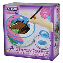 Breyer Horse Crazy Color & Decorate Treasure Box Kit