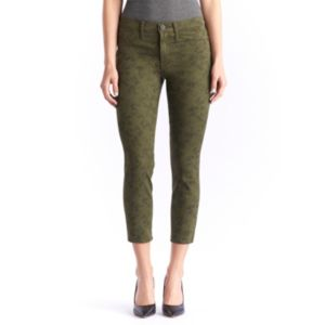 Women's Rock & Republic® Kashmiere Print Crop Jean Leggings