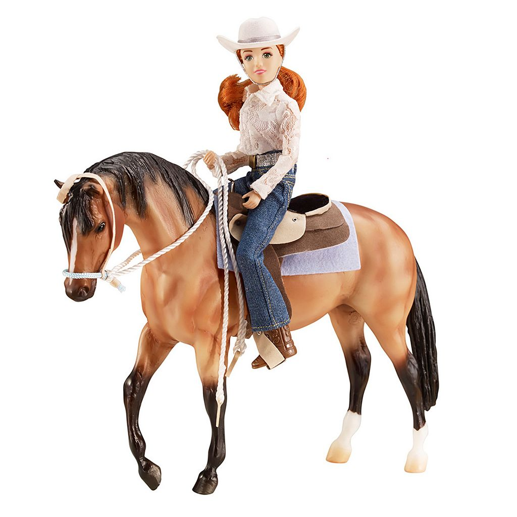 Breyer Traditional Series Western Let's Go Riding Set