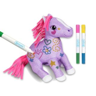 Breyer Pony Gals Scribbles Color & Wash Pony Set