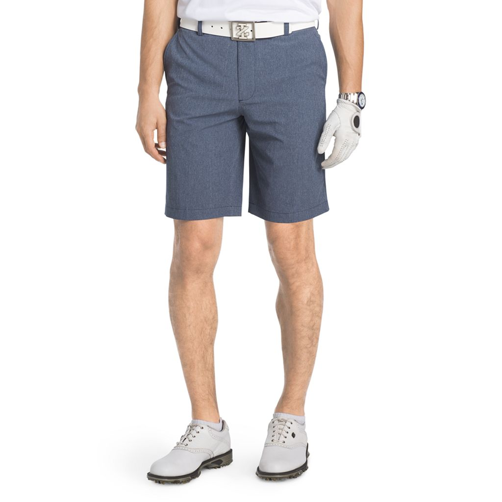 Men's IZOD Classic-Fit Grant Heathered Performance Golf Shorts