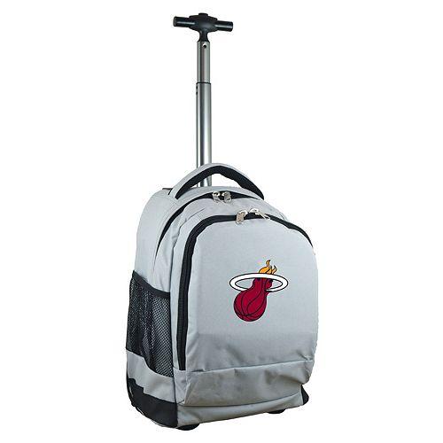Miami Heat Premium Wheeled Backpack