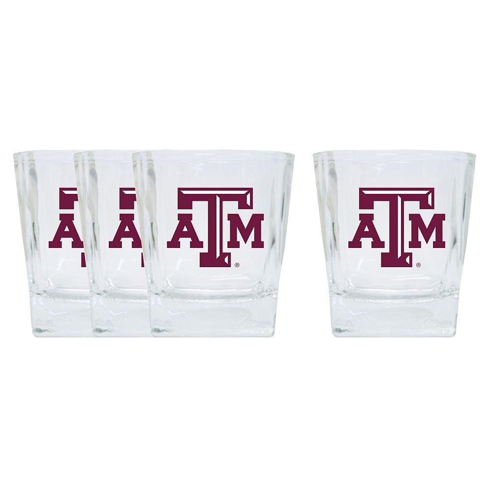 Texas A&M Aggies 4-Pack Short Tumbler Glasses