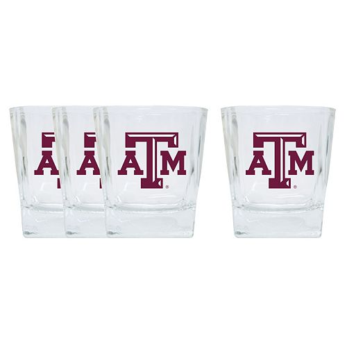 Texas A&M Aggies 4-Pack Short Tumbler Glasses