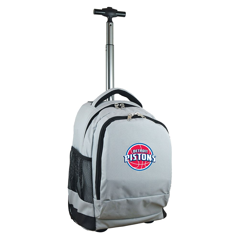 Detroit Pistons Premium Wheeled Backpack