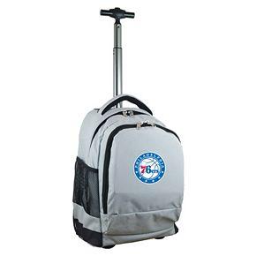 Philadelphia 76ers Premium Wheeled Backpack