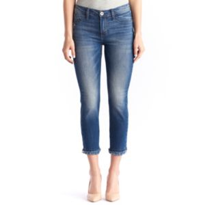 Women's Rock & Republic® Kashmiere Frayed Crop Skinny Jeans