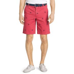 Men's IZOD Classic-Fit Schiffli Flat-Front Shorts