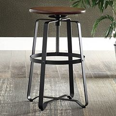 Smythson Industrial Adjustable Stool