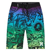 Boys 8-20 Hurley Collage Board Shorts