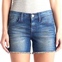 Women's Rock & Republic® Hula Zipper Accent Jean Shorts