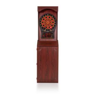 Arachnid Arcade Stand Up Cabinet & Cricket Pro 800 Electronic Dartboard Set