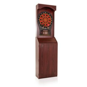 Arachnid Arcade Stand Up Cabinet & Cricket Pro 800 Electronic Dartboard Set