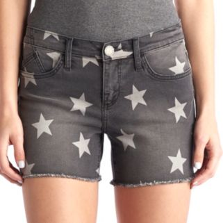 Women's Rock & Republic® Hula Star Jean Shorts