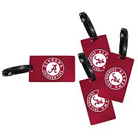 Alabama Crimson Tide 4-Pack Luggage Tag Set