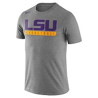 Men's Nike LSU Tigers Basketball Practice Dri-FIT Tee