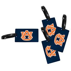 Auburn Tigers 4-Pack Luggage Tag Set