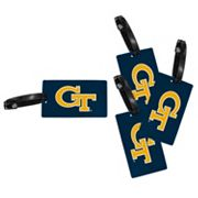 Georgia Tech Yellow Jackets 4-Pack Luggage Tag Set