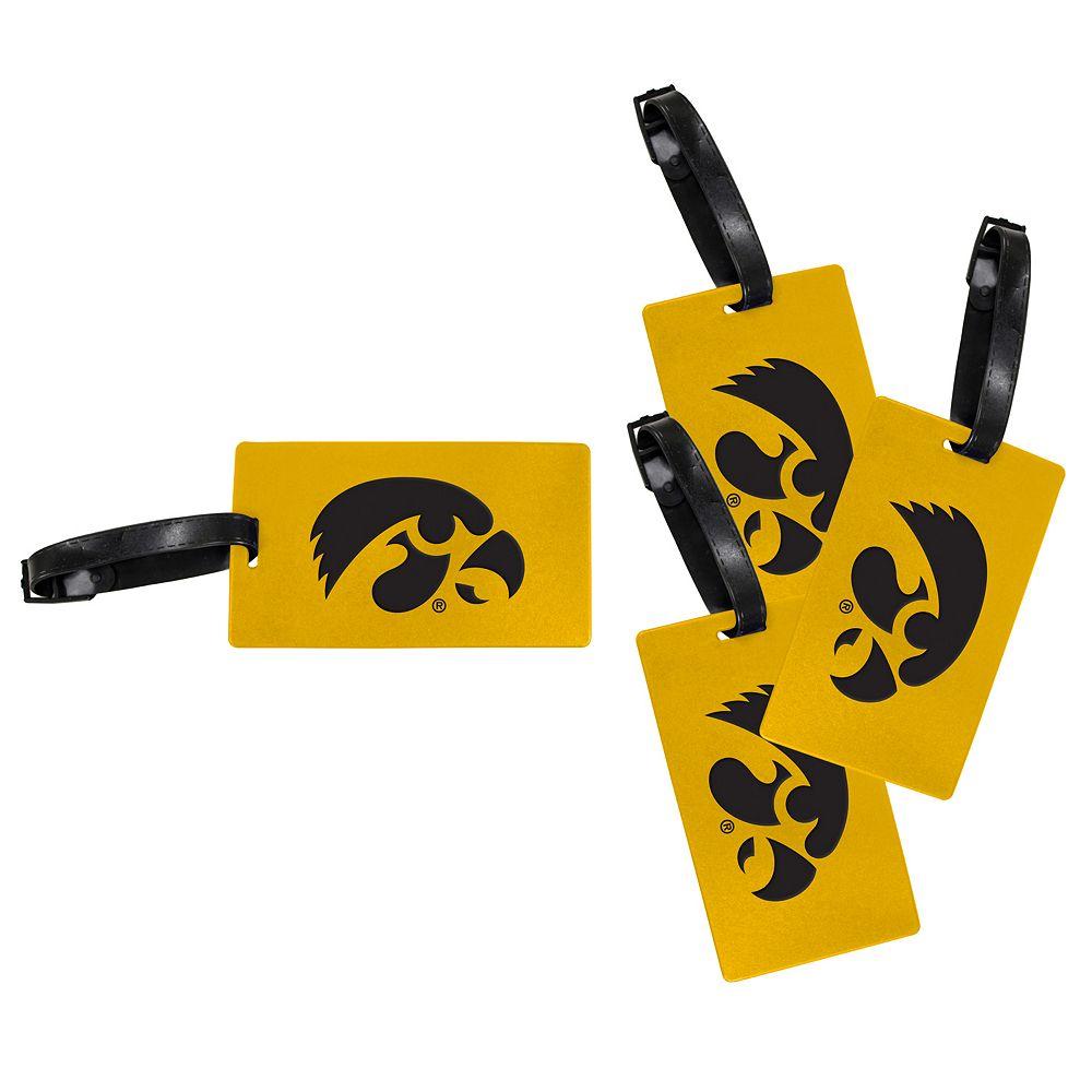 Iowa Hawkeyes 4-Pack Luggage Tag Set