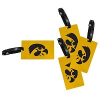 Iowa Hawkeyes 4-Pack Luggage Tag Set